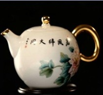 牡丹花茶王壶