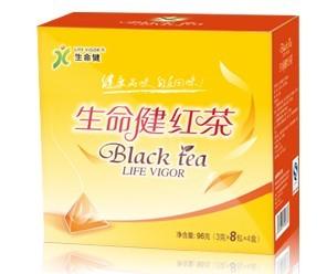生命健红茶