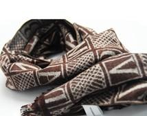 竹纤维男士围巾