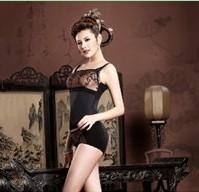 DZ-XF-T01 黑色美丽订制芦荟丝素胶原吊带