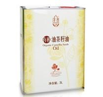 泽谷有机油茶籽油3L装