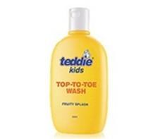 Teddie 儿童洗发沐浴乳 (蜜桃香型)