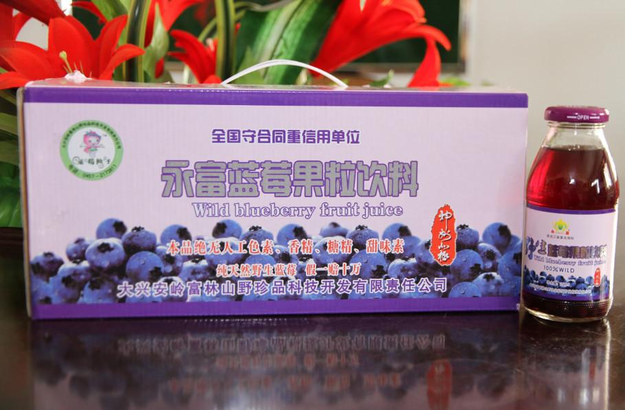 永富蓝莓果粒饮料