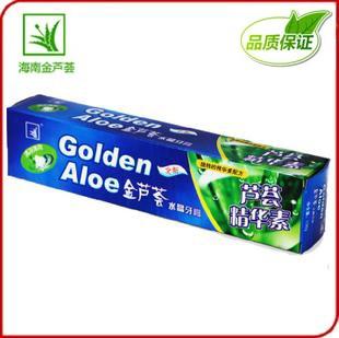 金芦荟水晶牙膏