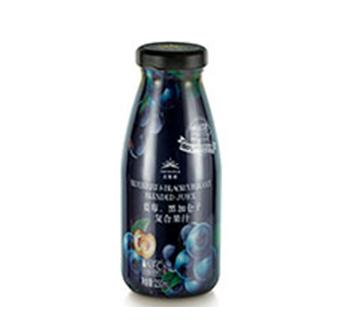 蓝莓、黑加仑子复合果汁